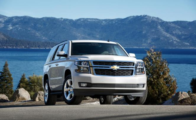 2015_chevrolet_tahoe_lt_white_pictures