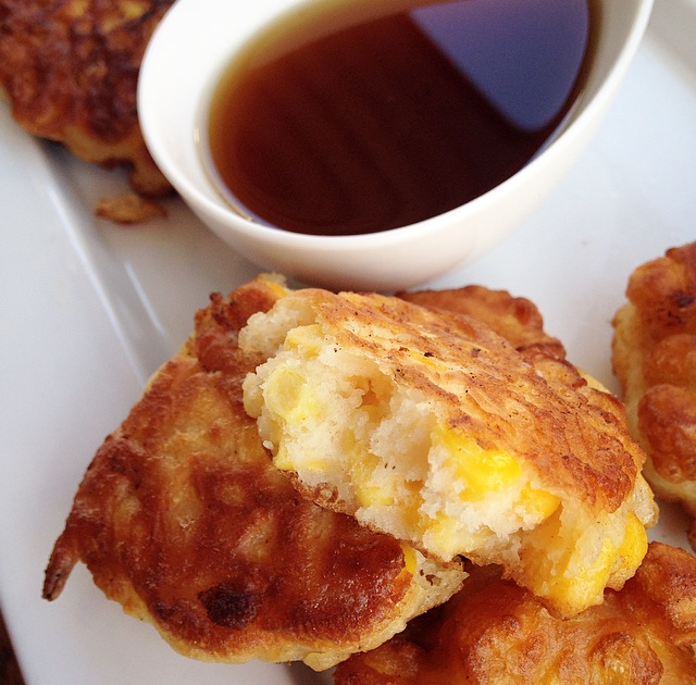 how to make homemade fritters